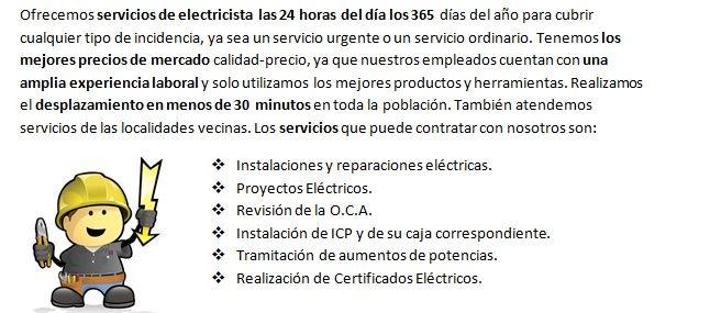 Electricistas 24 horas San Pedro de Alcántara con urgencia